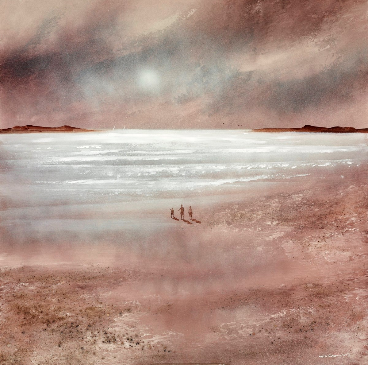 Day's First Light IV by mia cameron -  sized 24x24 inches. Available from Whitewall Galleries